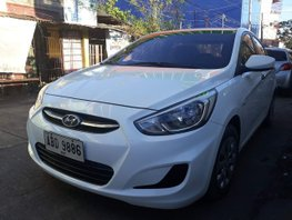 2nd Hand White 2015 Hyundai Accent Diesel Automatic for sale