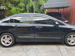 Selling Sedan Black 2006 Honda Civic in Quezon City
