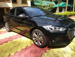 2017 Hyundai Elantra Automatic Black at 8000 km for sale in Pasig