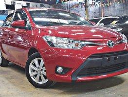 Selling Red 2017 Toyota Vios Sedan Automatic Gasoline
