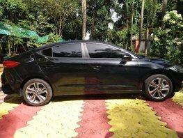 Black Hyundai Elantra 2017 for sale in Pasig