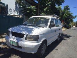 White Mitsubishi Adventure 2001 for sale in Las Piñas