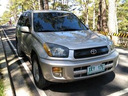Sell 2nd Hand 2003 Toyota Rav4 Manual Gasoline at 100000 km in Baguio