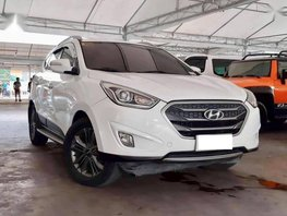 Selling 2nd Hand Hyundai Tucson 2015 Automatic Diesel at 40000 km in Makati