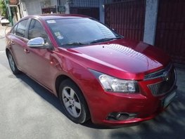 Selling Red Chevrolet Cruze 2012 Automatic Gasoline in Parañaque
