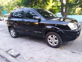 Selling 2nd Hand Hyundai Tucson 2008 at 120000 km in Quezon City