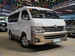 2013 Toyota Hiace at 40000 km for sale in Quezon City