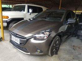 Brown Mazda 2 2018 Automatic Gasoline for sale in Pasig