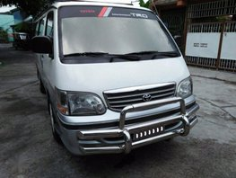 2nd Hand Toyota Hiace 2002 Manual Diesel for sale in Cabuyao