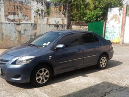Selling Blue Toyota Vios 2010 Manual Gasoline in Quezon City