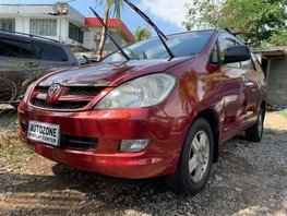 Red 2008 Toyota Innova Manual Diesel for sale