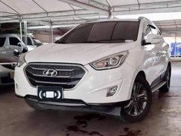 White 2015 Hyundai Tucson Automatic Diesel for sale