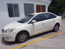 White Ford Focus 2010 Manual Gasoline for sale