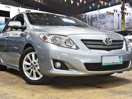 Silver 2008 Toyota Corolla Altis at 87000 km for sale in Quezon City