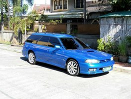 Blue Subaru Legacy 2000 at 110000 km for sale