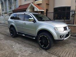 Selling Silver 2012 Mitsubishi Montero Sport Automatic Diesel