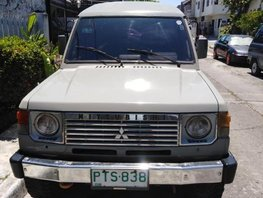 2nd Hand Mitsubishi Pajero 1991 for sale in Parañaque
