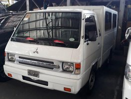White Mitsubishi L300 2015 for sale in Quezon City