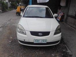 Selling Kia Rio 2009 at 130000 km in Quezon City