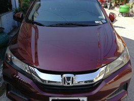 Red Honda City 2014 Automatic Gasoline for sale