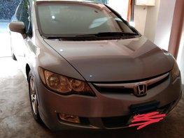 Selling Silver Honda Civic 2006 Sedan Automatic Gasoline in Baguio