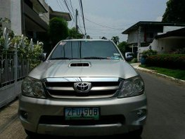 Selling Beige Toyota Fortuner 2006 at 130000 km in Muntinlupa