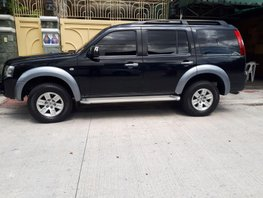 Sell Black 2008 Ford Everest in Quezon City
