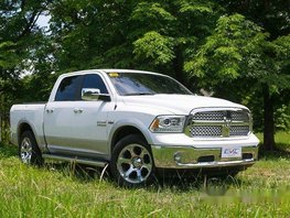 White Dodge Ram 2017 at 35000 km for sale in Quezon City