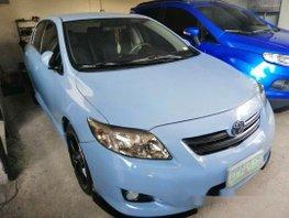Blue Toyota Corolla Altis 2008 Automatic Gasoline for sale