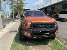 Orange Ford Ranger 2018 Automatic Diesel for sale