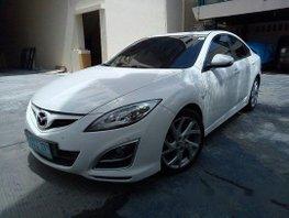 Sell White 2012 Mazda 6 at 95000 km