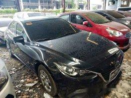 Sell Black 2016 Mazda 3 Automatic Gasoline at 35000 km in Makati