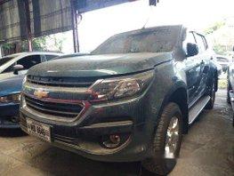 Sell Blue 2017 Chevrolet Trailblazer in Makati