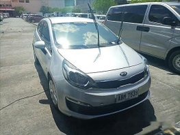 Sell Silver 2015 Kia Rio in Manila