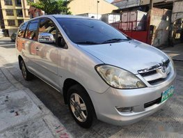 Selling Silver Toyota Innova 2007 Automatic Gasoline at 120000 km in Manila