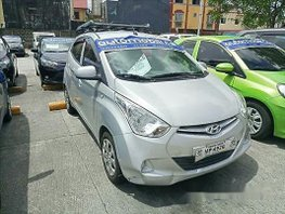 Silver Hyundai Eon 2016 at 22588 km for sale