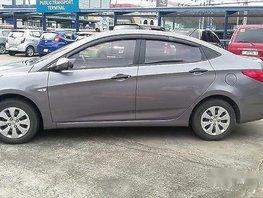 Sell Grey 2015 Hyundai Accent at 64000 km