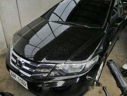 Black Honda City 2014 Automatic Gasoline for sale