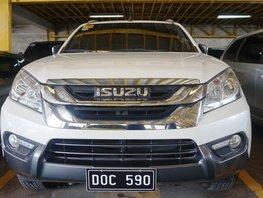 Selling White Isuzu Mu-X 2017 Automatic Diesel in Quezon City