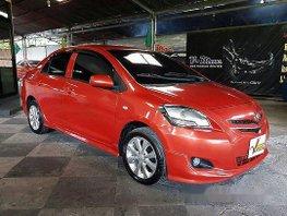 Orange Toyota Vios 2009 at 85000 km for sale