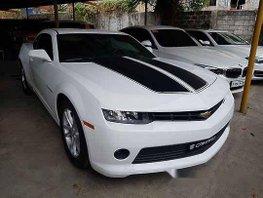White Chevrolet Camaro 2015 Automatic Gasoline for sale