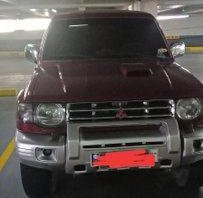Red Mitsubishi Pajero 2005 Automatic Diesel for sale