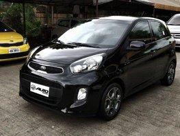 Selling Black Kia Picanto 2016 in Cainta