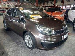 Selling Brown Kia Rio 2015 in Quezon City