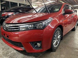 Sell Red 2017 Toyota Corolla Altis at 8800 km in Quezon City