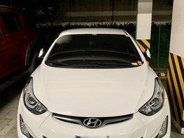 White 2015 Hyundai Elantra for sale in Metro Manila