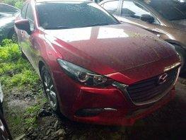 Selling Red Mazda 3 2018 in Makati
