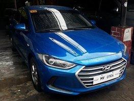 Selling Blue Hyundai Elantra 2018 at 3398 km in Pasig