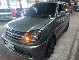 Grey Mitsubishi Adventure 2016 Manual Diesel for sale in Quezon City