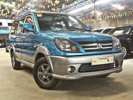 Blue 2017 Mitsubishi Adventure Manual Diesel for sale in Quezon City